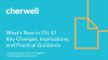 What's New in ITIL 4? Key Changes, Implications, and Practical Guidance
