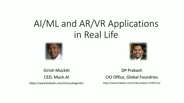 [Ep.3] AI+Machine Learning and AR+VR Applications in Real Life