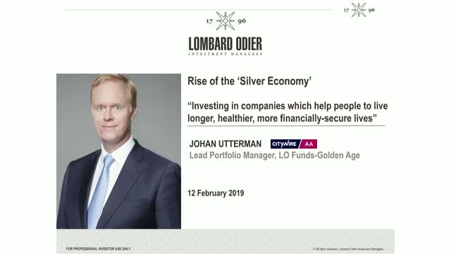 Rise of the 'Silver Economy' - Investing in companies which help people to live