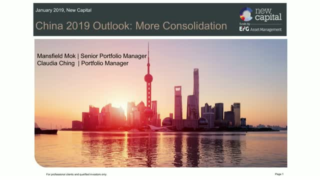 New Capital China Equity Outlook Webinar