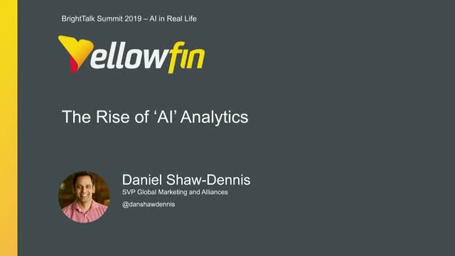 The Rise of AI Analytics