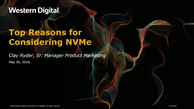 Top Reasons for Considering NVMe