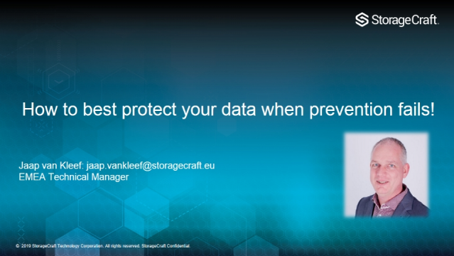 How to best protect your data when prevention fails