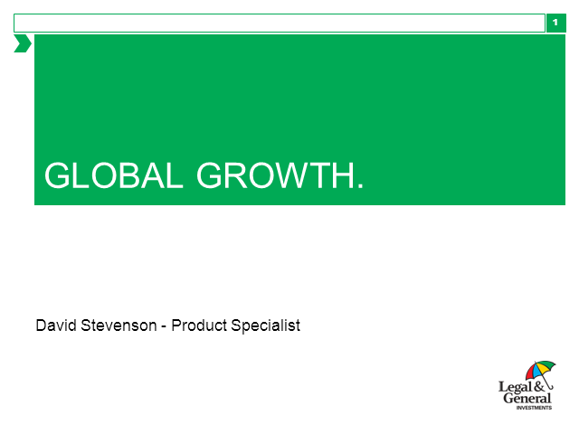 Global Growth webcast