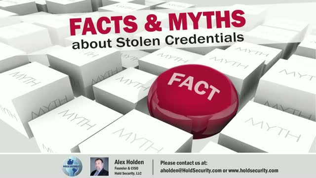 Facts and Myths about Stolen Credentials