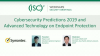 Cybersecurity Predictions 2019 and Advanced Technology on Endpoint Protection