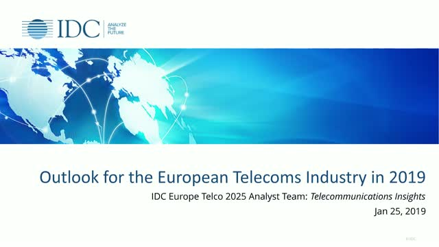 Outlook for the European Telecoms Industry in 2019