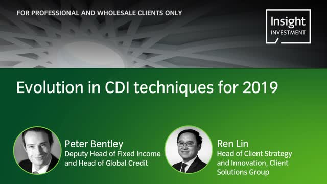 Annual Investment update 2019: Evolution in CDI techniques