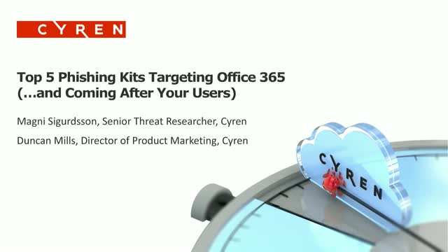 Top 5 Office 365 Phishing Kits to Watch For