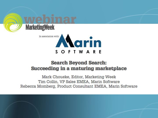 Search beyond search: Succeeding in a maturing marketplace