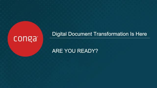 Digital Document Transformation is Here: Are You Ready?