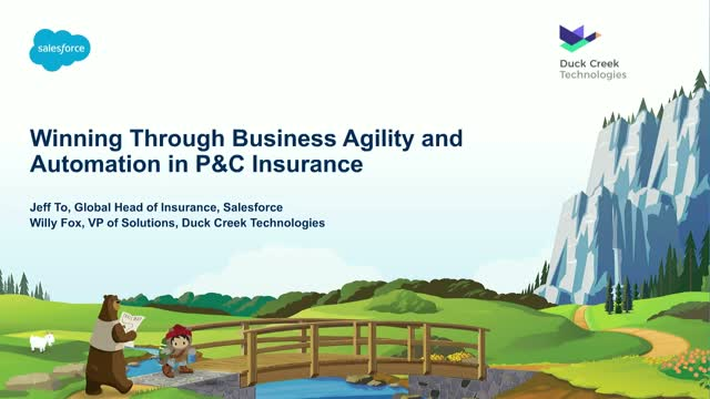 Winning through business agility and automation in P&C insurance