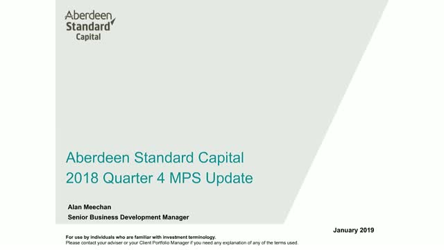 Aberdeen Standard Capital Managed Portfolio Service Q4 2018 update