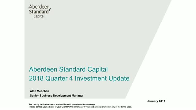 Aberdeen Standard Capital Q4 2018 update