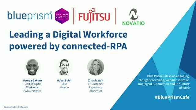 Fujitsu | Leading a Digital Workforce powered by connected-RPA technologies