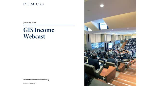 GIS Income Fund Webcast Jan 2019