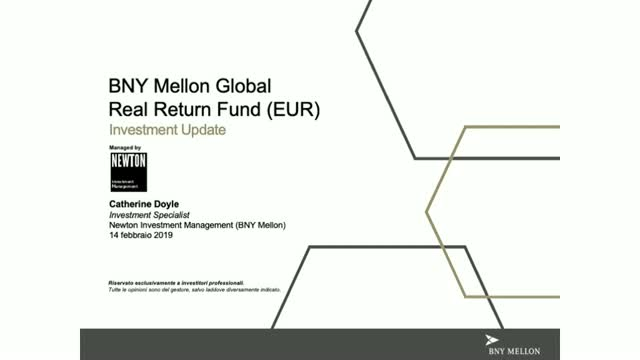 Aggiornamento BNY Mellon Global Real Return Fund