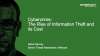 Cybercrime: The Rise Of Information Theft And Its Cost