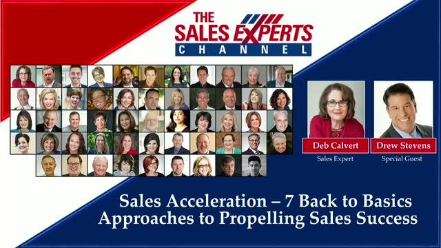 Sales Acceleration - 7 Back to Basics Approaches to Propelling Sales Success