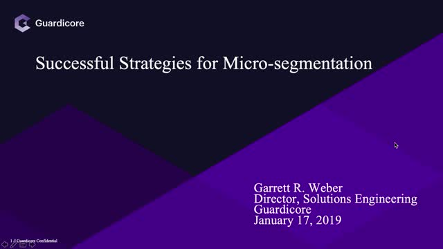 Successful Strategies for Micro-segmentation
