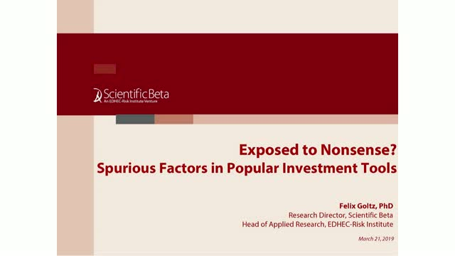 Exposed to Nonsense? Spurious Factors in Popular Investment Tools
