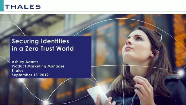Identities Are the New Security Perimeter in a Zero Trust World