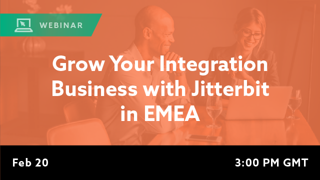 Grow Your Integration Business with Jitterbit in EMEA