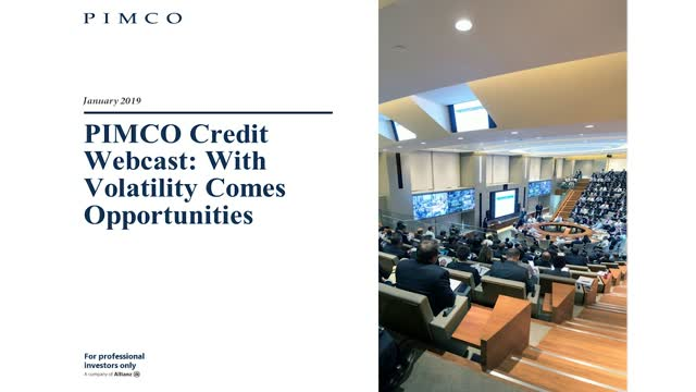 Credit Outlook 2019: With volatility comes opportunities