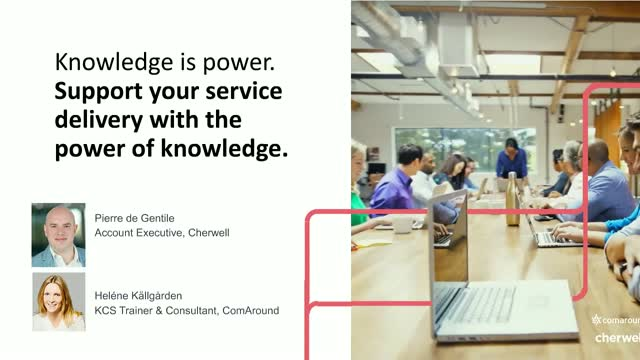 Support your service delivery with the power of knowledge