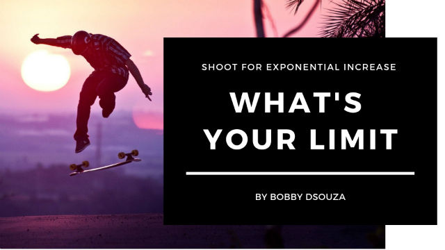 What's Your Limit: Shoot for exponential increase