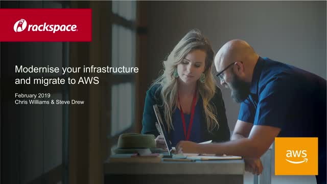 AWS WEBINAR: Modernise your infrastructure and migrate to AWS.