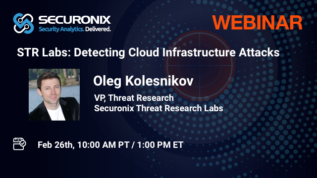Threat Research: Detecting Cloud Infrastructure Attacks.