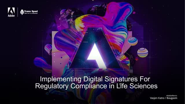 Implementing Digital Signatures For Regulatory Compliance in Life Sciences