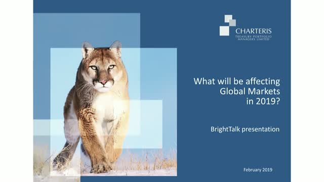 What will be affecting Global Markets in 2019?