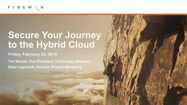 Secure Your Journey to the Hybrid Cloud