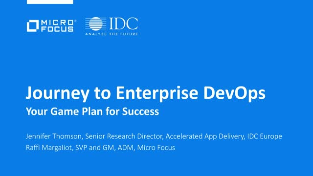 Journey to Enterprise-Scale DevOps: Your Game Plan for Success