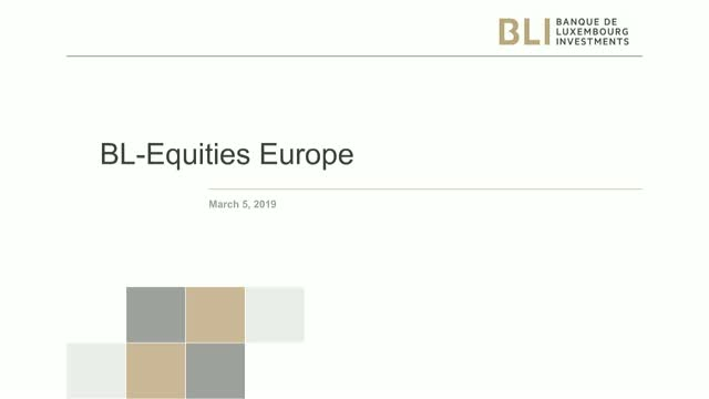 Investments in European Equities