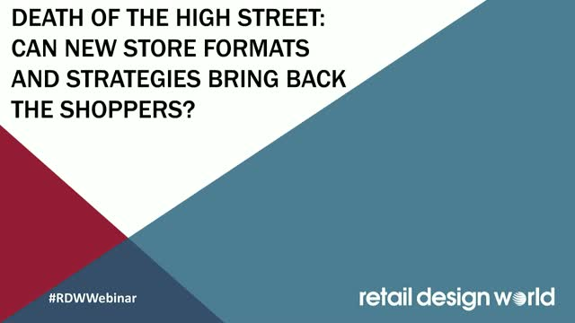 Death of the High Street: can new store formats and strategies bring back the sh