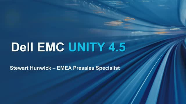 Dell EMC Unity has got even better
