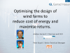 Optimising wind farm design for maximum financial return