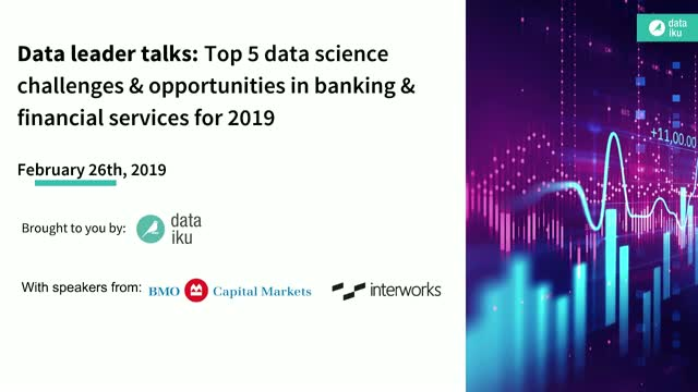 Top 5 data science challenges & opportunities in Financial Services