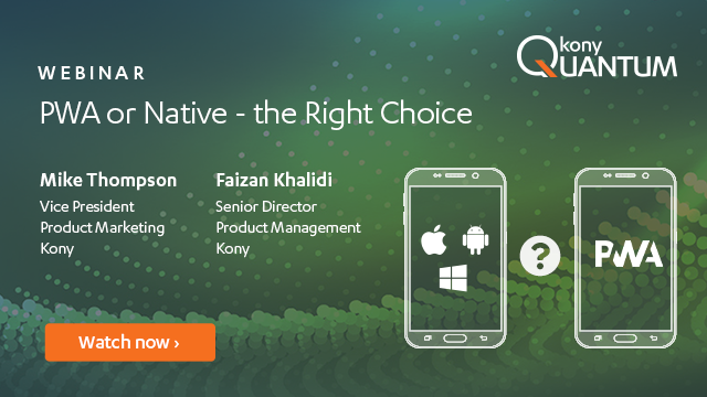 PWA or Native: The Right Choice