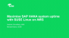 Maximise SAP HANA system uptime with SUSE Linux on AWS