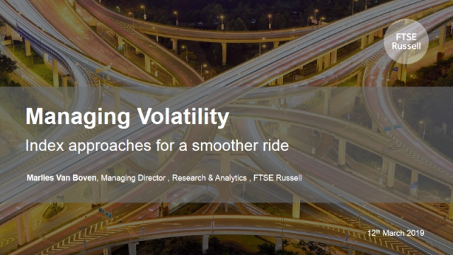 Managing Volatility: Index approaches for a smoother ride