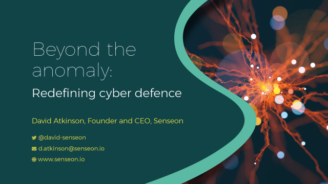 Beyond the anomaly: Redefining cyber defence
