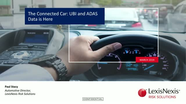 The Connected Car: UBI and ADAS Data is Here