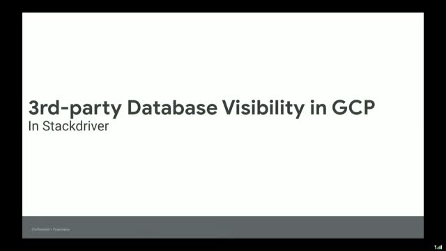 3rd-party Database Visibility in GCP with Deep Telemetry in Stackdriver