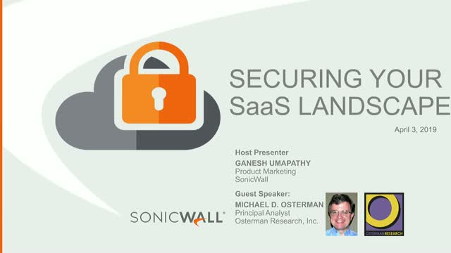Securing your SaaS landscape