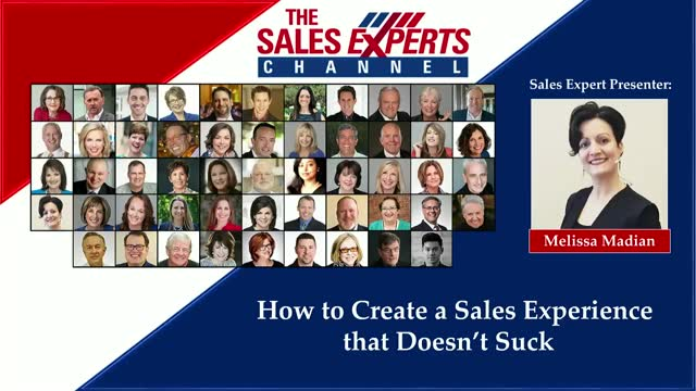 How to Create a Sales Experience that Doesn't Suck