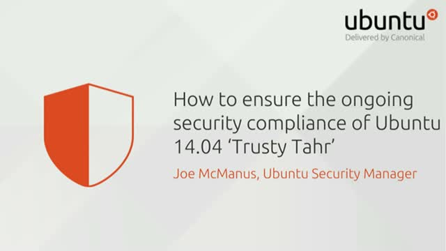 How to ensure the ongoing security compliance of Ubuntu 14.04 LTS 'Trusty Tahr'